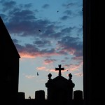 Cáceres: arco estrella crepusculo