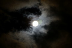 Gorgeous (VTChEwbecca) Tags: sky moon night clouds nightsky moonandclouds msh1209 msh120917
