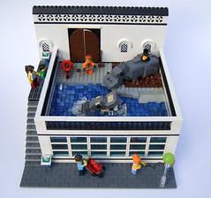 zoo1 (Rogue Bantha) Tags: zoo lego hippo minifig