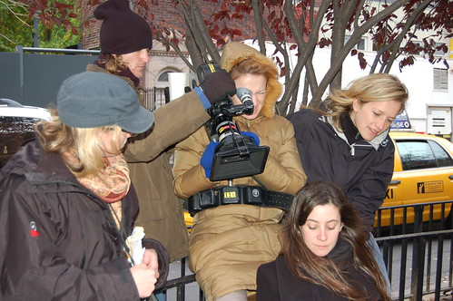 Leo, Jeff, Me, Edna shooting Edna's film
