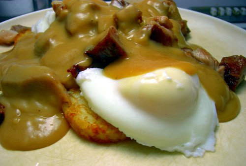 Pork Benedict, my way