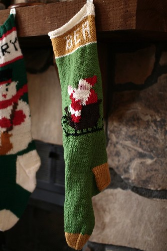 the stocking!