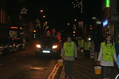 Carol Singing, Earlsdon, Coventry, 2009 (tvermar) Tags: santa christmas fatherchristmas santaclaus coventry earlsdon carolsinging