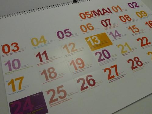 Xmas Kalender 2010 - Namics