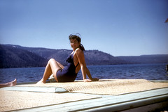 1952-Ann at Lake Tahoe (Robert Blumberg) Tags: berman blumberg