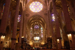 Catedral, Palma de Mallorca (twiga_swala) Tags: monument architecture islands spain arquitectura cathedral interior gothic catedral cathdrale spanish seu national mallorca palma majorca intrieur baleares gtica balearic balears illes majorque ilsas