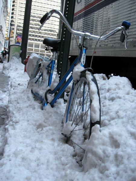 Snowbound Bike (Click to enlarge)