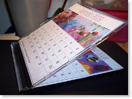 Calendario da tavolo 2010 | Mamma Felice