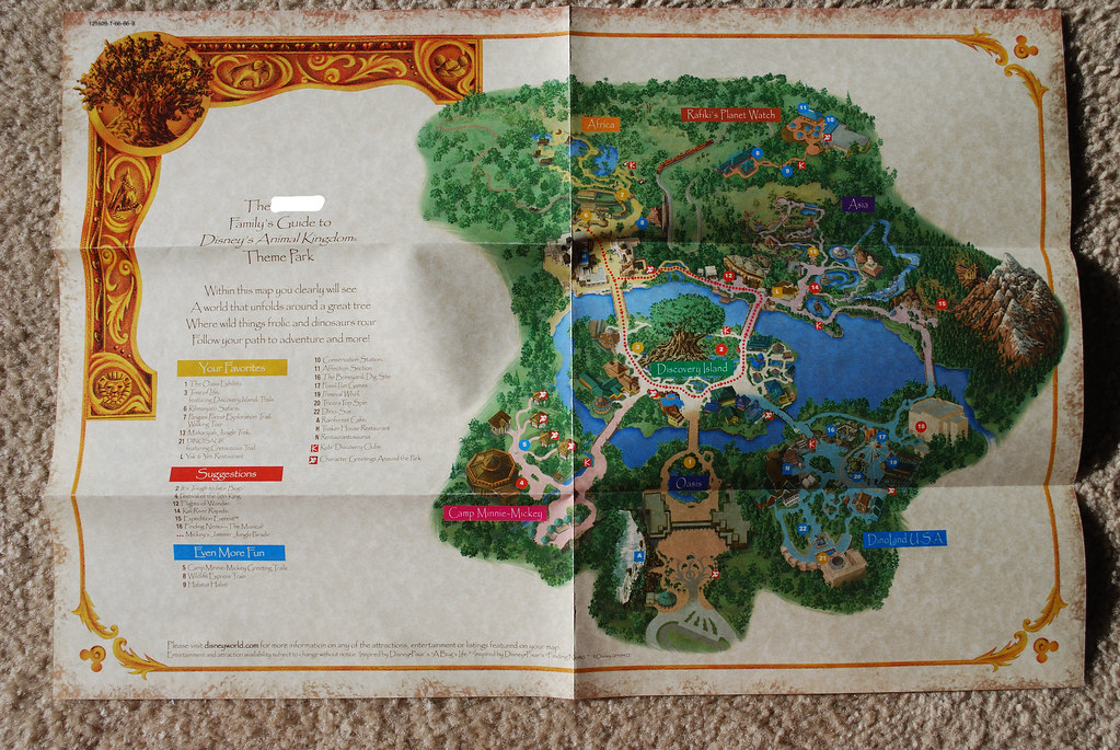 Animal Kingdom map