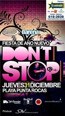 Don't Stop 2010 - Punta Rocas
