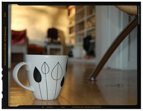 Coffee and work (Copyright Hanna Andersson)