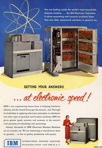 Tus respuestas a velocidad electrónica (1951)
