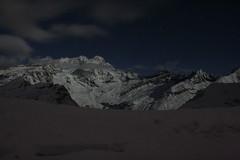 il rosa illuminato dalla luna (MrZanna) Tags: rosa neve monte alpi montagna alpe 4000 valsesia alagna quattromila massiccio sattal