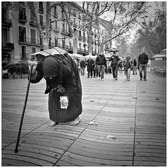 The Walk (stroll around Barcelona) (Saur) Tags: barcelona photo spain pic tourist catalunya lasramblas fotografia topseven fotoghapy