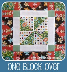 one block over button