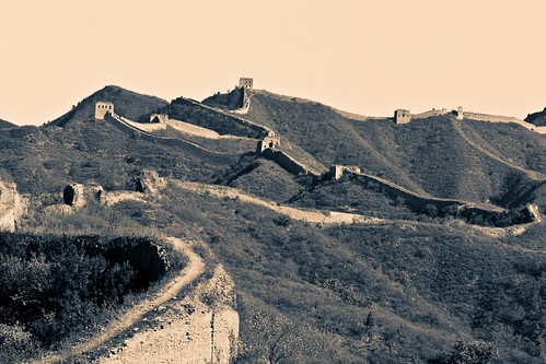 Gubeikou Great Wall (by niklausberger)