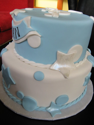 A Christening Cake for Ethan