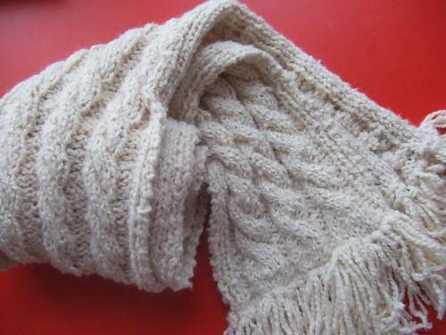 alpaca soft scarf