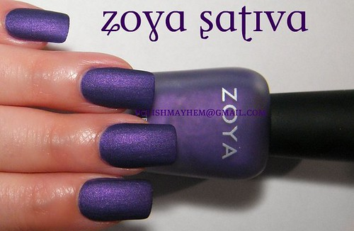 Polish Mayhem Zoya Matte Velvet Winter Collection 2009