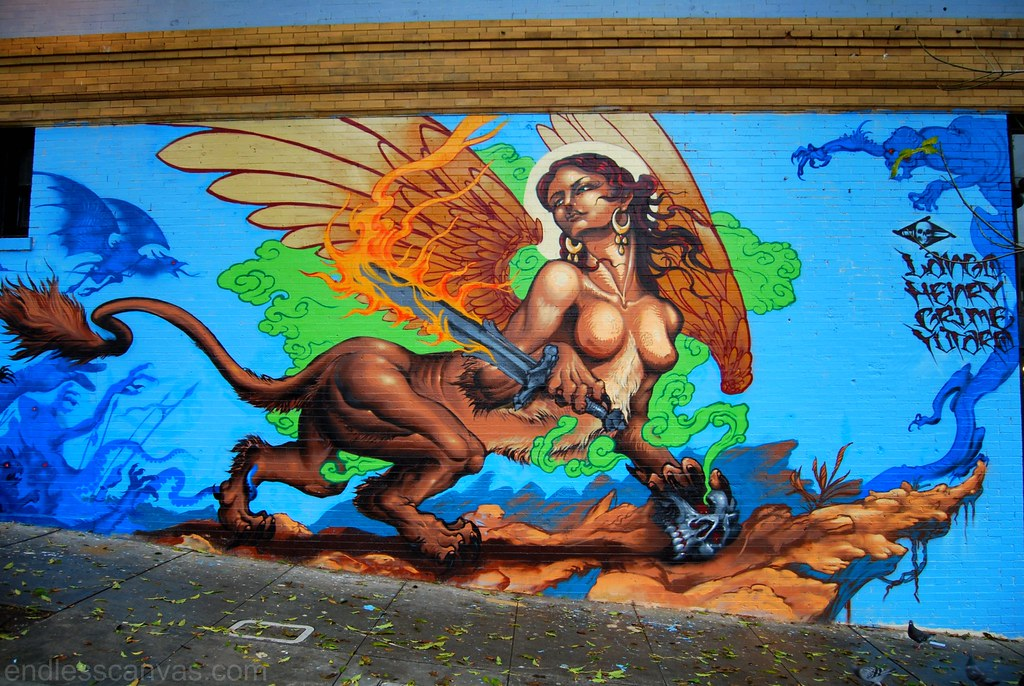 Lango Henry Grime Yutar Graffiti San Francisco California.