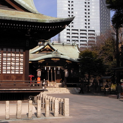The Kumano Shrine and Yodobashi Purification Plant 03