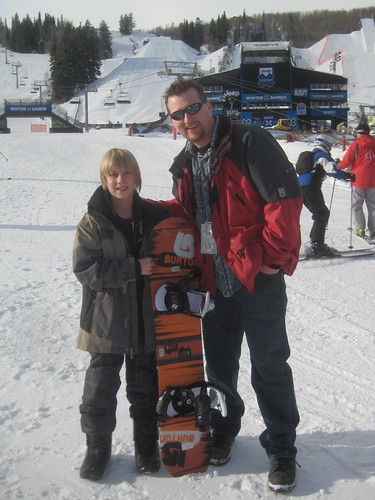 Philip Nelson & Noel at ESPN Winter X Games