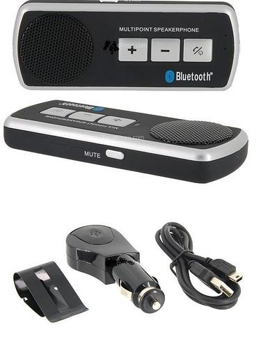 (Black) Wireless Car Bluetooth Headset/Headphone