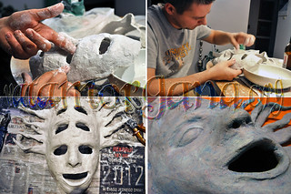 Making Shpongle Mask - next 4 steps