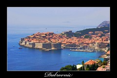 Dubrovnic (zaahr) Tags: blue sea azul croatia fortress dubrovnic adriatic cetate