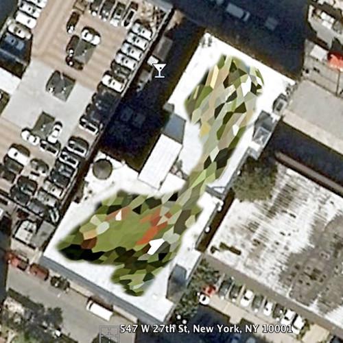 Hendershot Gallery- 547 West 27th Street Proposed Rooftop Painting