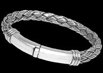 Sterling Silver Bracelets b640s by anixijewelry