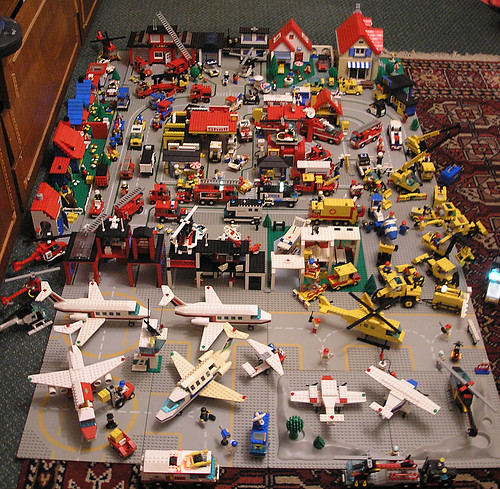 Classic Lego Town