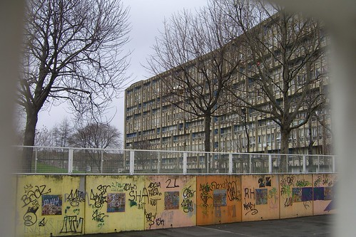 Robin Hood Gardens, by Allison & Peter Smithson