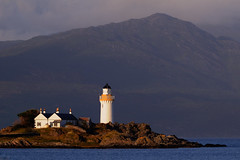 Ornsay lighthouse, Sound of Sleat, Isle of Skye, Scotland (iancowe) Tags: lighthouse skye scotland highlands scottish stevenson sound isle sleat isleornsay ornsay wbnawgbsct