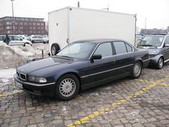 BMW 735i (nakhon100) Tags: cars germany classics bmw bremen 7series 7er e38 735i