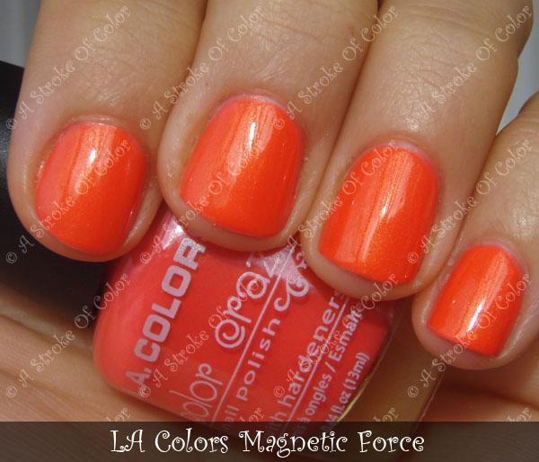 A Stroke of Color: LA Colors Magnetic Force :D