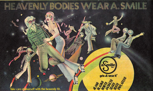Vintage Ad #1,045: Heavenly Bodies Wear a Smile