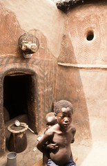 village gurunsi (courregesg) Tags: africa architecture village decoration westafrica terre tradition ethnic burkinafaso afrique africanarchitecture
