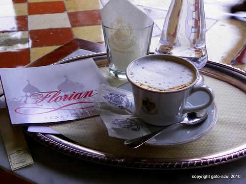Venice - Cappucino At Florian's