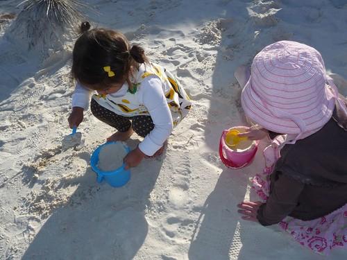 sand toys.