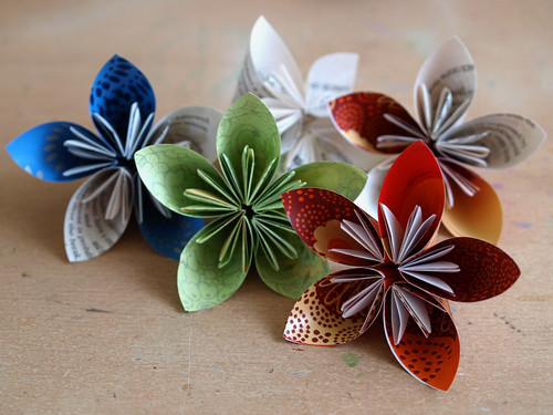 origami flower instructions for kids