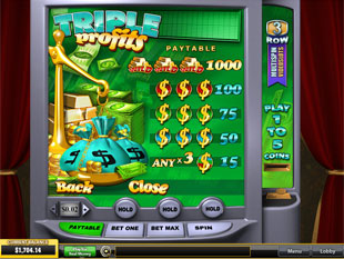 free Triple Profits slot mini symbol