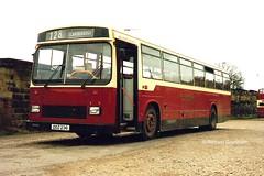 East Yorkshire 236, DDZ236. (EYBusman) Tags: park coach district yorkshire arnold lancashire east leopard wallace depot scarborough westwood services supreme leyland 128 lancs plaxton hardwicks eyms rebodied el2000 valerider ddz236 pnw336w eybusman