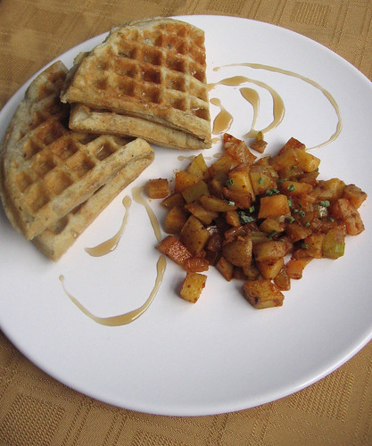 waffles and hash