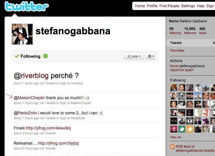 Steffano Gabbana