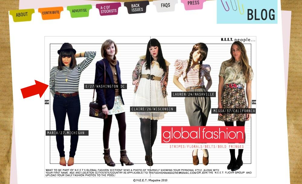 N.E.E.T. Magazine Issue #18 March '10- Global Fashion