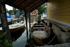 Båtgarage (davidelmlund) Tags: sweden stockholm vaxholm swe