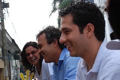 Con Mapi Velasco y Juan Fernando Reyes (Sergio Fajardo Valderrama) Tags: en sergio cali fajardo