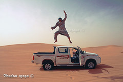Freedom in Adhan Murzuq (Azaga (Portrite )) Tags: life travel tourism car canon fun this was freedom is play desert 4 joy taken photograph libya ahmed x4 touareg dyes jumped      50d sabha ubari    murzuq             aridp  twita