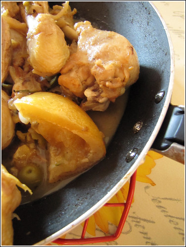 Pollo alle Olive Verdi, Spezie e Limoni Confits